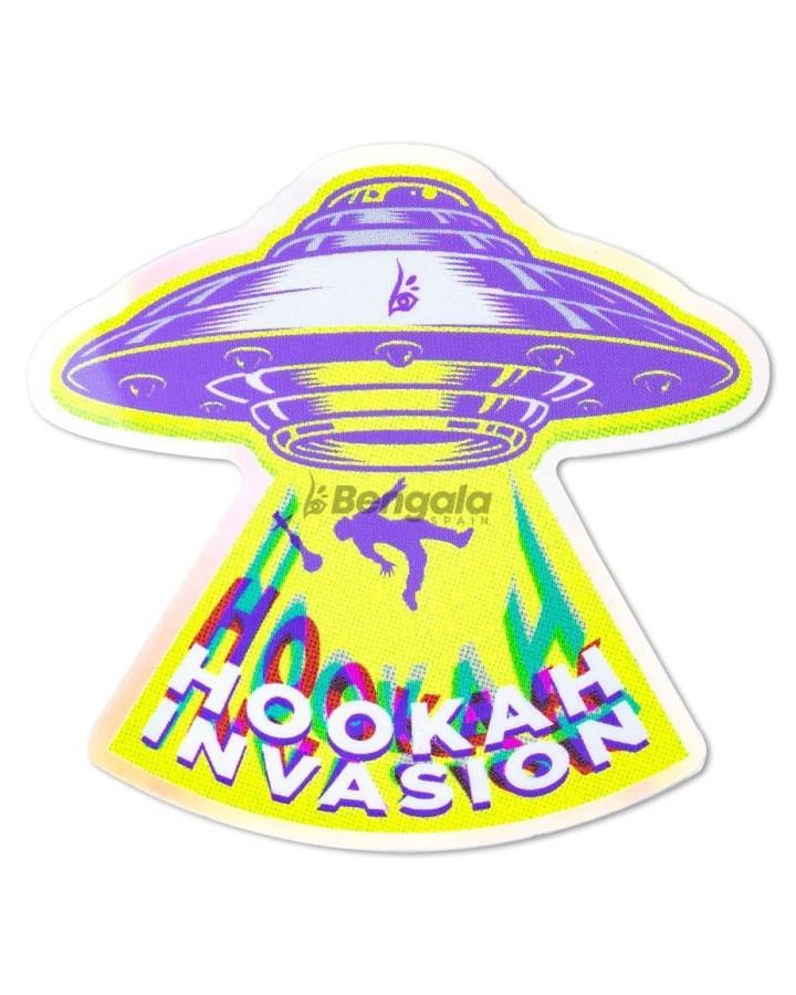 PEGATINA PREMIUM HOOKAH INVASION